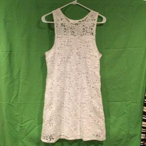 Decree white lace dress